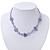 Children's Purple 'Heart' Necklace - 36cm Length/ 4cm Extension - view 2