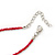 Children's Deep Pink 'Happy Face' Necklace - 36cm Length/ 4cm Extension - view 6