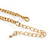 'Angel Wings' Peter Pan Collar Necklace In Gold Plating - 38cm Length/ 6cm Extension - view 5
