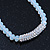 White Mountain Crystal and Swarovski Elements Choker Necklace - 36cm Length (5cm extension) - view 5