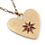 Red Enamel Crystal Heart Pendant With Gold Tone Long Chain - 70cm Length/ 7cm Extension - view 4