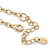 Vintage Inspired Chunky Link Chain with Rose Quartz and Plastic Beads Necklace - 102cm L/ 7cm Ext - view 4