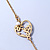 Vintage Inspired Heart, Freshwater Pearl, Flower Long Chain Necklace - 86cm Length - view 8