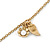 Vintage Inspired Heart, Freshwater Pearl, Flower Long Chain Necklace - 86cm Length - view 2