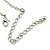 Vintage Inspired Heart Locket Charm Long Chain Necklace In Silver Tone - 90cm L/ 7cm Ext - view 6