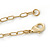 Vintage Inspired Cut Out Heart Long Necklace In Gold Tone Metal - 88cm L - view 5