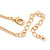 Gold Plated Open Butterfly Pendant With 36cm L/ 6cm Ext Chain - view 5