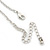 Romantic Hearts & Angels Charm Necklace In Silver Tone - 40cm Length/ 6cm Extension - view 6