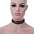 3 Strand Black Beaded Flex Choker Adult - 30cm Length/ 6cm Extension - view 3