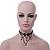 Chic Victorian/ Gothic/ Burlesque Black Bead Choker Necklace - 31cm Length/ 8cm Extension - view 9