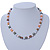 9mm Multicoloured Oval Freshwater Pearl Necklace In Silver Tone - 39cm L/ 4cm Ext - view 3