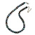 10mm Grey Potato Freshwater Pearl Necklace In Silver Tone - 41cm L/ 6cm Ext - view 2