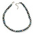 10mm Grey Potato Freshwater Pearl Necklace In Silver Tone - 41cm L/ 6cm Ext - view 8