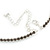 Light Grey Top Grade Austrian Crystal Choker Necklace In Rhodium Plated Metal - 35cm L/ 11cm Ext - view 5
