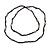 Long Black Glass, Lavender Ceramic Bead Necklace - 104cm L - view 4