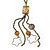 Vintage Inspired Long Tassel with Shell & Star Necklace In Bronze Tone - 92cm L/ 17cm Tassel - view 3