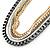 Long Multistrand Chain Necklace (Gold/ Gun/ Silver Tone) - 96cm L - view 5