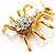 Gold Tarantula Pendant - view 5