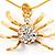 Gold Tarantula Pendant - view 4