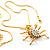 Gold Tarantula Pendant - view 7
