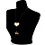 Gold Tone Multi Cord Tassel Fashion Heart Pendant - view 8