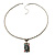 Long 'Classic Lady' Multicoloured Crystal Cameo Pendant Necklace (Silver Tone) - view 9