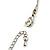 Long Diamante Owl Pendant Necklace (Silver Tone) - 66cm - view 9