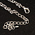 Shimmering Diamante Spider Pendant Necklace (Silver Tone Finish) - 60cm Length - view 18