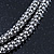 Rhodium Plated Swarovski Crystal 'Queen of Hearts' Pendant on Long Lantern Chain - 70cm (6cm Extension) - view 8