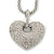 Rhodium Plated Swarovski Crystal 'Queen of Hearts' Pendant on Long Lantern Chain - 70cm (6cm Extension) - view 11