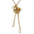 Vintage Inspired Delicate Heart, Flower, Freshwater Pearl Tassel Necklace In Gold Plating - 38cm Length/ 4cm Extension