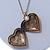Antique Gold Heart Locket Pendant With Long Chain - 68cm L/ 8cm Ext - view 7