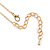 Small Owl Pendant with Gold Tone Chain - 42cm L/ 5cm Ext - view 5