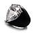 Pear-Cut Clear Swarovski Crystal Fashion Ring - view 11