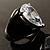 Pear-Cut Clear Swarovski Crystal Fashion Ring - view 12