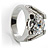 Brilliant-Cut Crystal Clear CZ Solitaire Ring - view 8