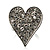 Romantic Crystal Heart Ring (Silver & Clear) - view 3