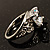Silver Plated Clear CZ Solitaire Ring - view 4