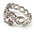 Clear Crystal CZ Solitaire Ring (Silver Tone) - Size 7 - view 7