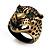 Vintage Bronze Tone 'Tiger' Ring - view 7
