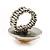 Silver Tone Daisy Flex Ring - Size 7/9 - view 9