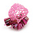 Pink Shell Chip & Freshwater Pearl Cluster Flex Ring - view 5