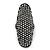 Large Pave Set Clear Swarovski Crystal 'Shield' Flex Ring In Black Tone - 6cm Length - Size 8/9 - view 4