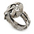 Vintage Inspired Coiled Snake Ring In Silver Tone - Size 7 - view 3