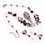 Romantic Pink Teardrop Pendant & Earrings Glass Fashion Set - view 15