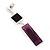 Grape Soda Purple 'Summer Shapes' Necklace & Drop Earrings Set In Matte Silver Plating - 40cm Length/ 7cm Extension - view 6