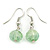 Multicoloured Square Shell & Crystal Floating Bead Necklace & Drop Earring Set - 52cm Length/ 6cm extension - view 6