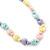Children's Multicoloured Acrylic Heart Flex Necklace & Flex Bracelet Set - view 2