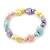 Children's Multicoloured Acrylic Heart Flex Necklace & Flex Bracelet Set - view 3