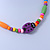 Children's Multicoloured Ladybug Wooden Flex Necklace & Flex Bracelet Set - view 7